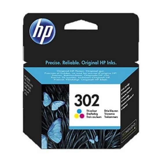 HP 302 F6U65AE Cartouche...