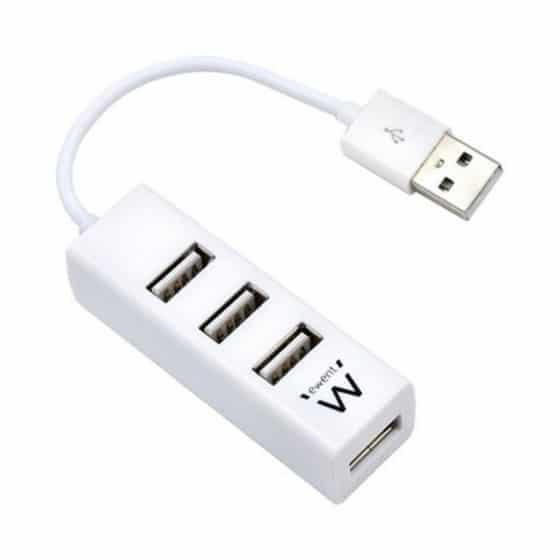 Hub USB Ewent EW1122 Blanc