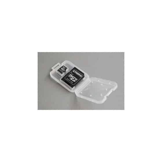 Boitier pour carte mémoire microSD + SD