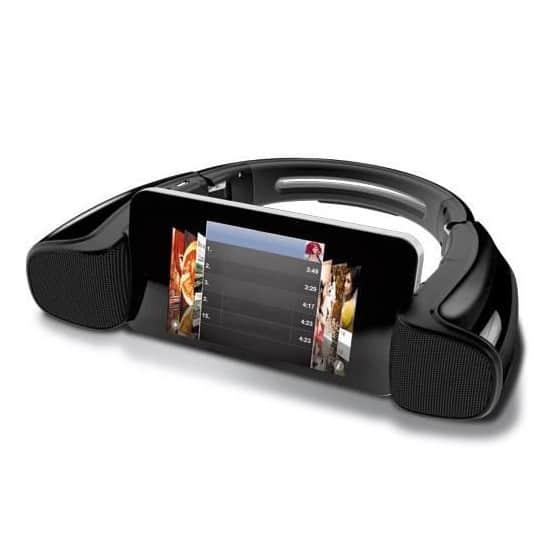 KSIX Enceinte Sans Fil Bluetooth STAND&PLAY Avec NFC