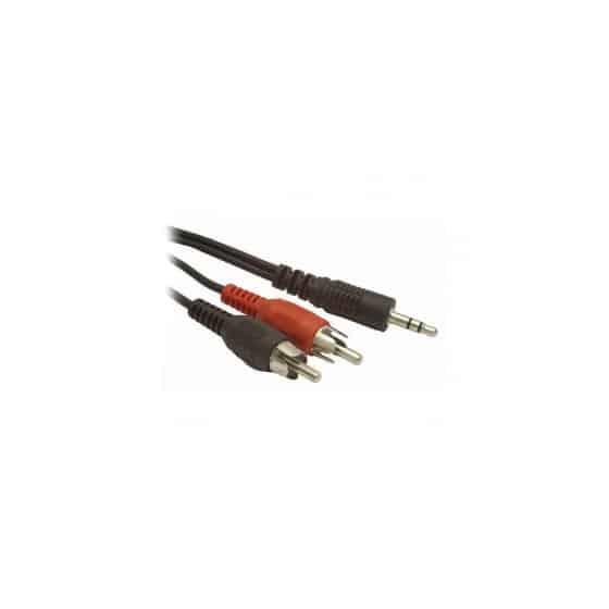 Câble Audio Jack (3,5 mm) vers 2 RCA GEMBIRD CCA-458 15 m