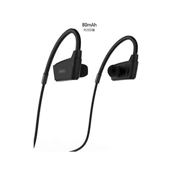 Casque de Sport Bluetooth sans Fil Stéréo Noir Remax S19