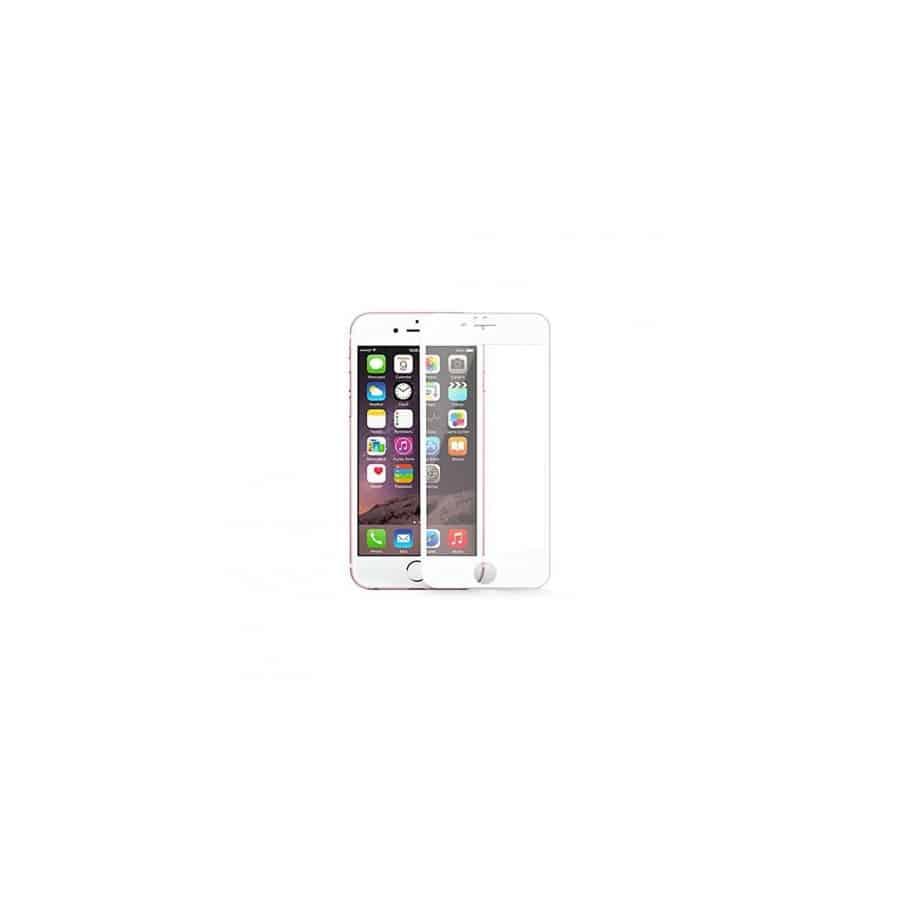 Verre Trempé Bord À Bord 2.5D Blanc Pour Apple IPhone 7