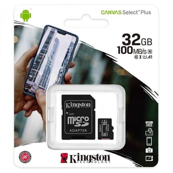 MicroSDHC 16Go Intenso + Adaptateur CL10