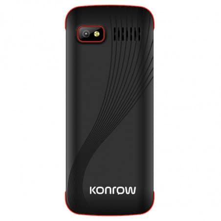 Konrow Axess - Double Sim - Noir