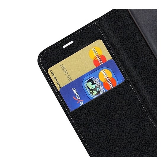Etui Portefeuille Zanae Pour iPhone 13 Noir