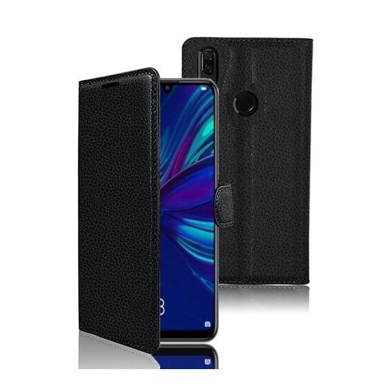 Etui Portefeuille Zanae pour Huawei P Smart (2019) / Honor 10 lite Noir