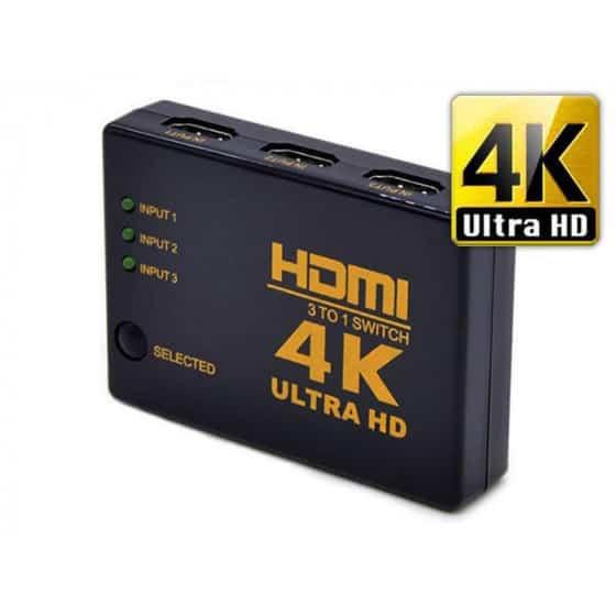 Commutateur HDMI 4K Ultra HD - 3 Ports