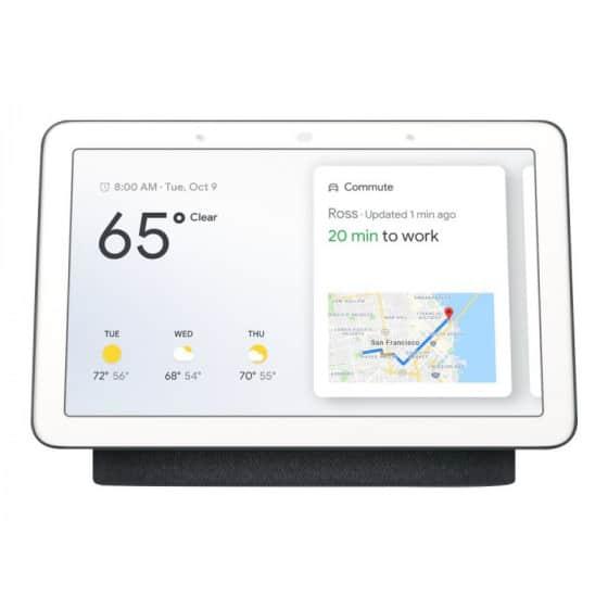 "Assistant Google Nest Hub Charbon Ecran 7"""